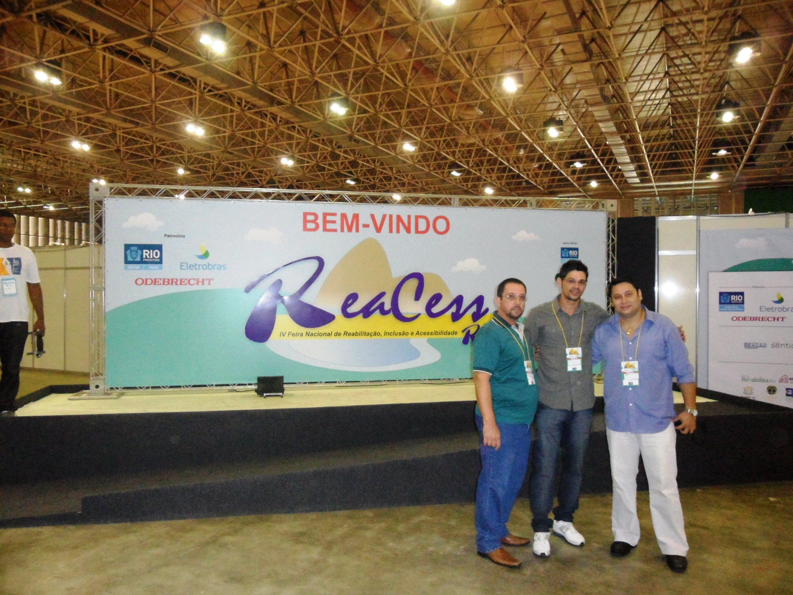 Ortesista/Protesista ?> Manoel Luiz & Auxiliar Ortesista/Protesista ?> Diogo Chagas & Consultor Fisioterápico Fisioterapeuta Danúbio Fernando.