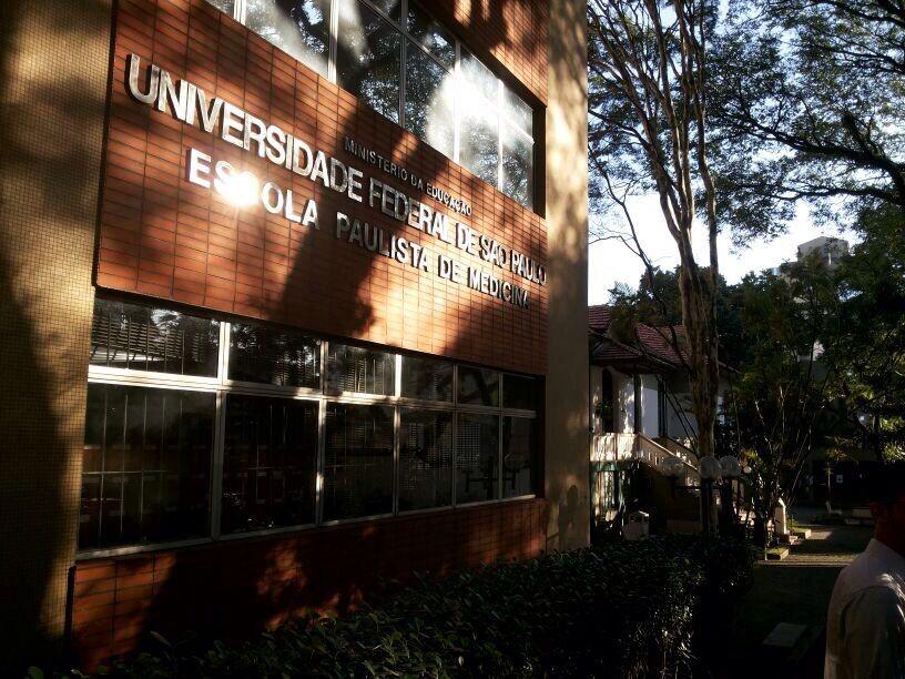 Entrada da Universidade UNIFESP.