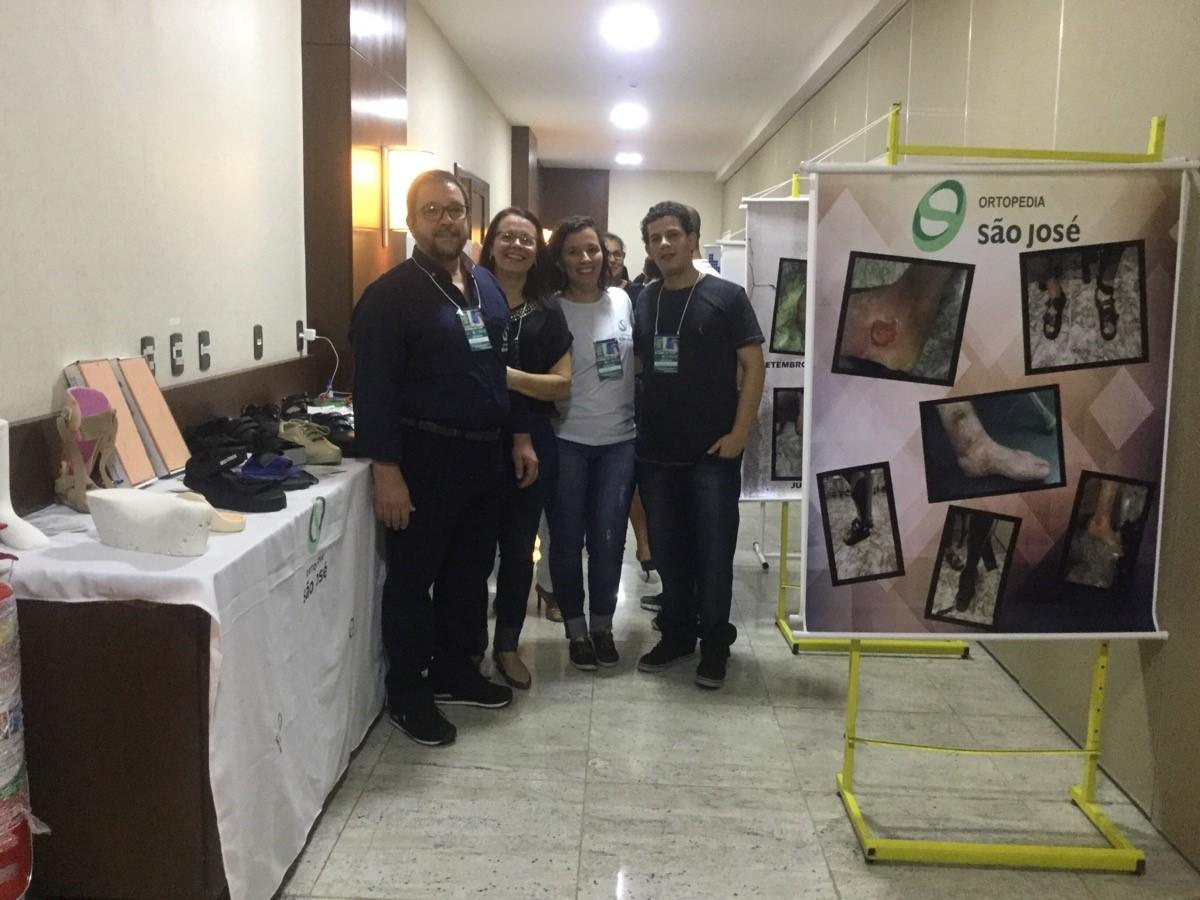 Ortesista/Protesista Manoel Luiz / Vania Cunha / Camila Cunha / Thiago Tavares.